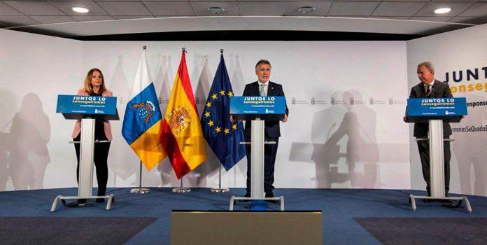 Rueda de prensa Gobierno de Canarias