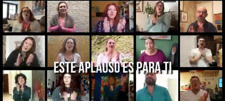 Alumnos de la Escuela de Música del Puerto de la Cruz realizan un video de ánimo y agradecimiento durante la cuarentena