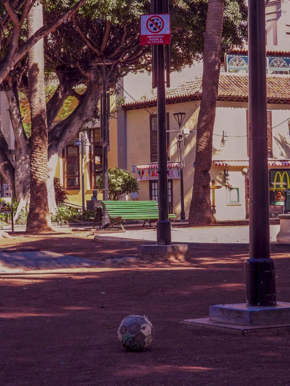 Plaza del Charco durante la cuarentena 3-4-2020