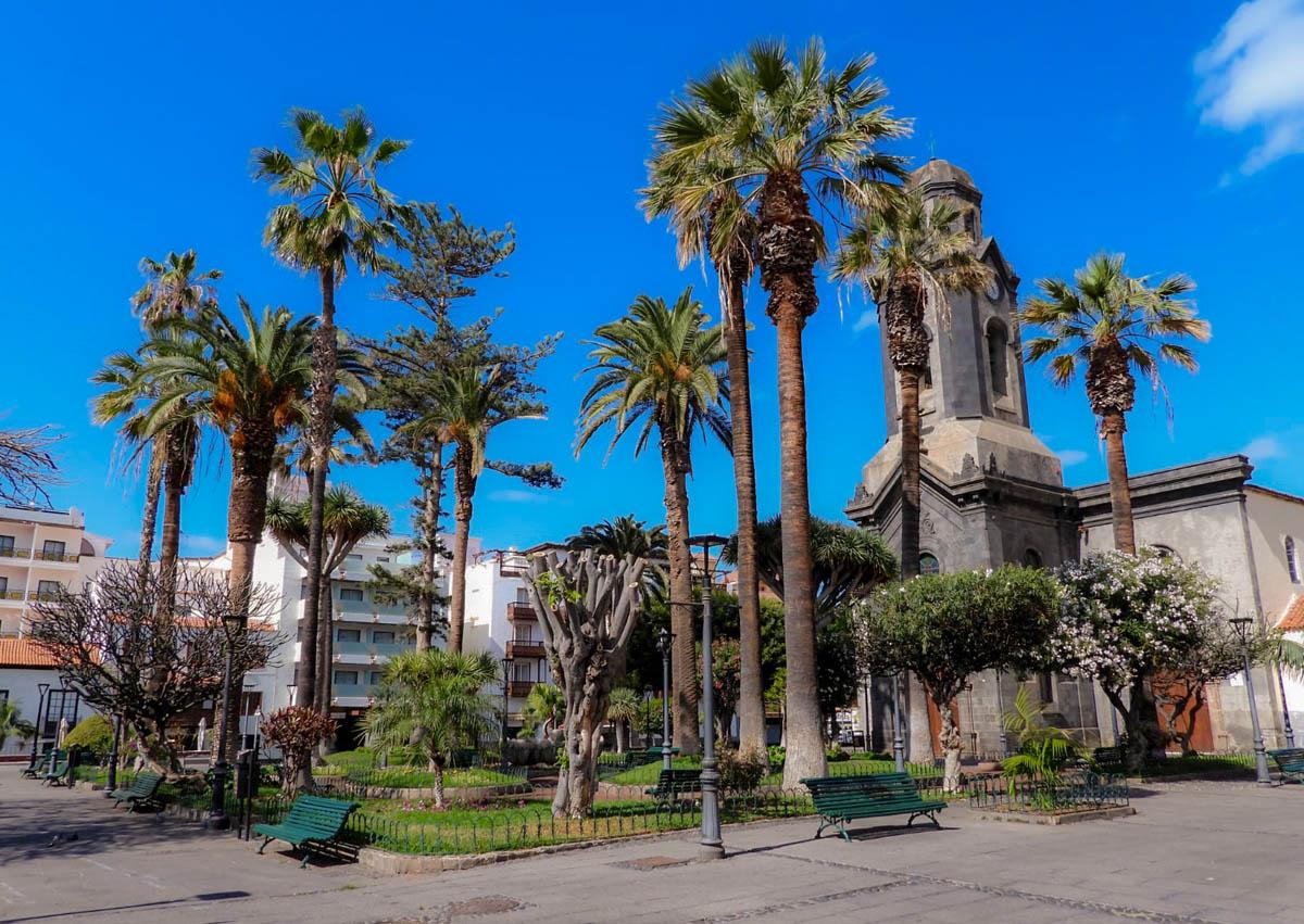 Plaza de la Iglesia durante la cuarentena 3 de abril de 2020