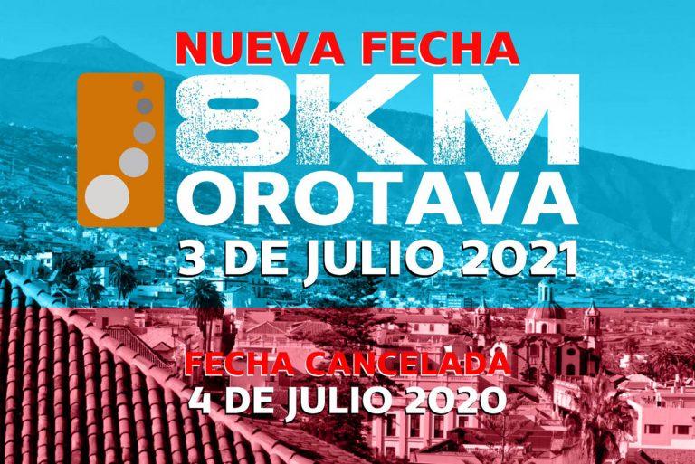 Se aplaza a 2021 la 'carrera nocturna 8Km Orotava'