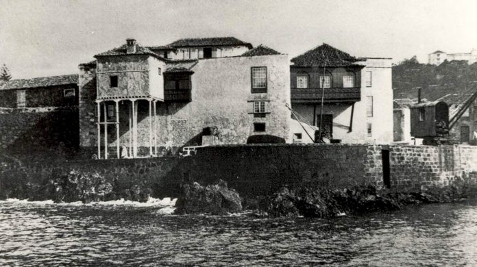 Casa de la Aduana en el pasado