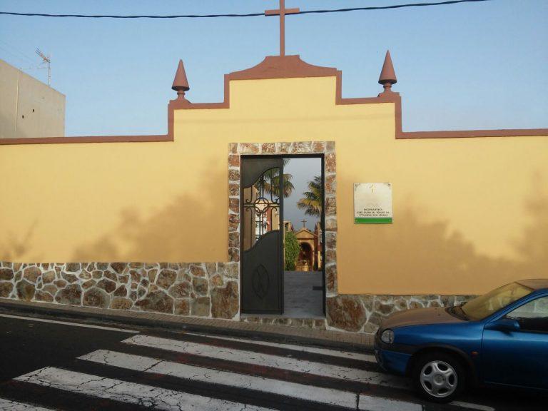 La Guancha abre sus cementerios este sábado
