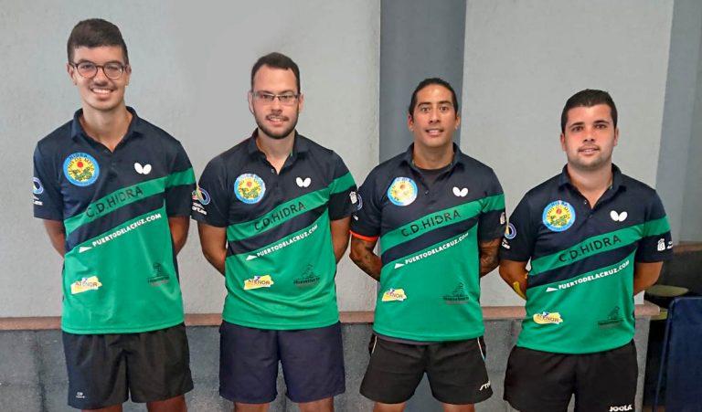 El C.D. Hidra Puerto de la Cruz consigue el ascenso a la Primera División Nacional de Tenis de Mesa