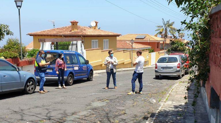 Se inicia la obra de la segunda fase del saneamiento de Las Palmeras en La Orotava