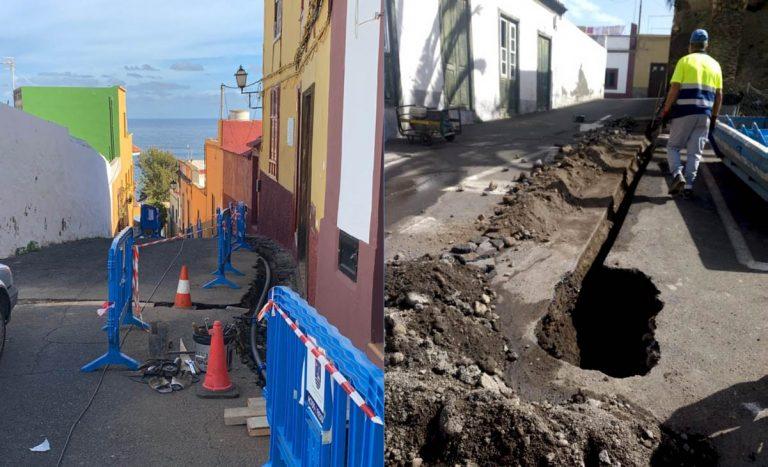 Importante reducción de fugas en la red de suministro de agua de San Juan de la Rambla