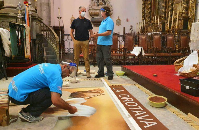 La Orotava celebra el Corpus con una programación que podrá seguirse desde casa
