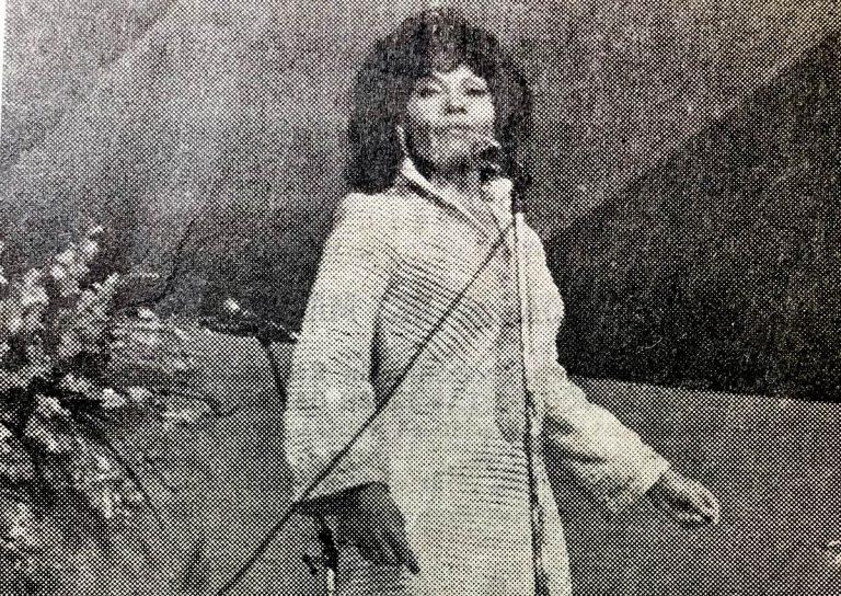 Cleo Laine y el recordado Festival de la Canción del Atlántico del Puerto de la Cruz