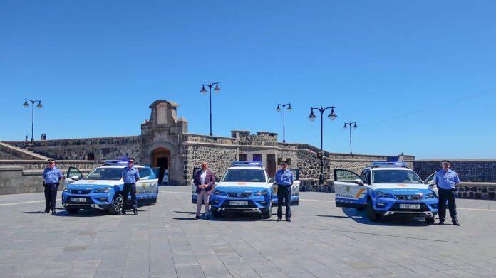 Nuevos vehículos de la Policía Local del Puerto de la Cruz