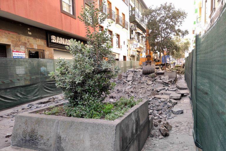 Empezaron las obras de mejora y acondicionamiento de la calle Blanco
