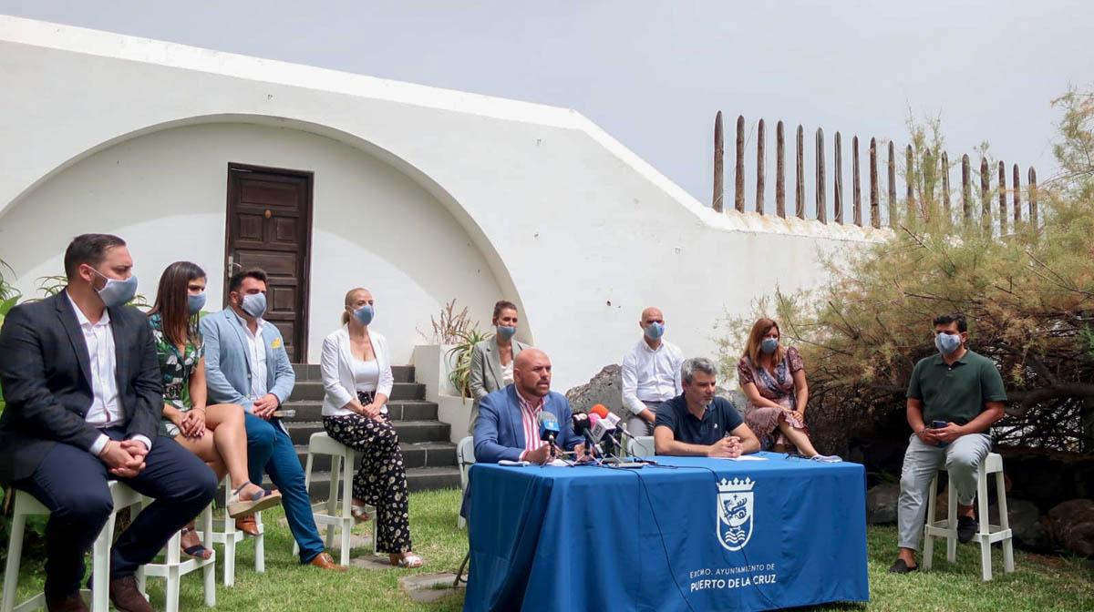 Rueda de prensa sobre el balance del primer año de gestion municipal