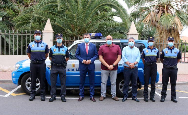 Cuatro agentes se incorporan a la Policía Local de Los Realejos