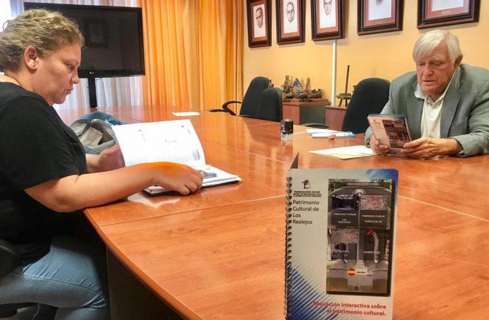 200720 Reunión concejala Patrimonio Isabel y presidente CICOP Matrán