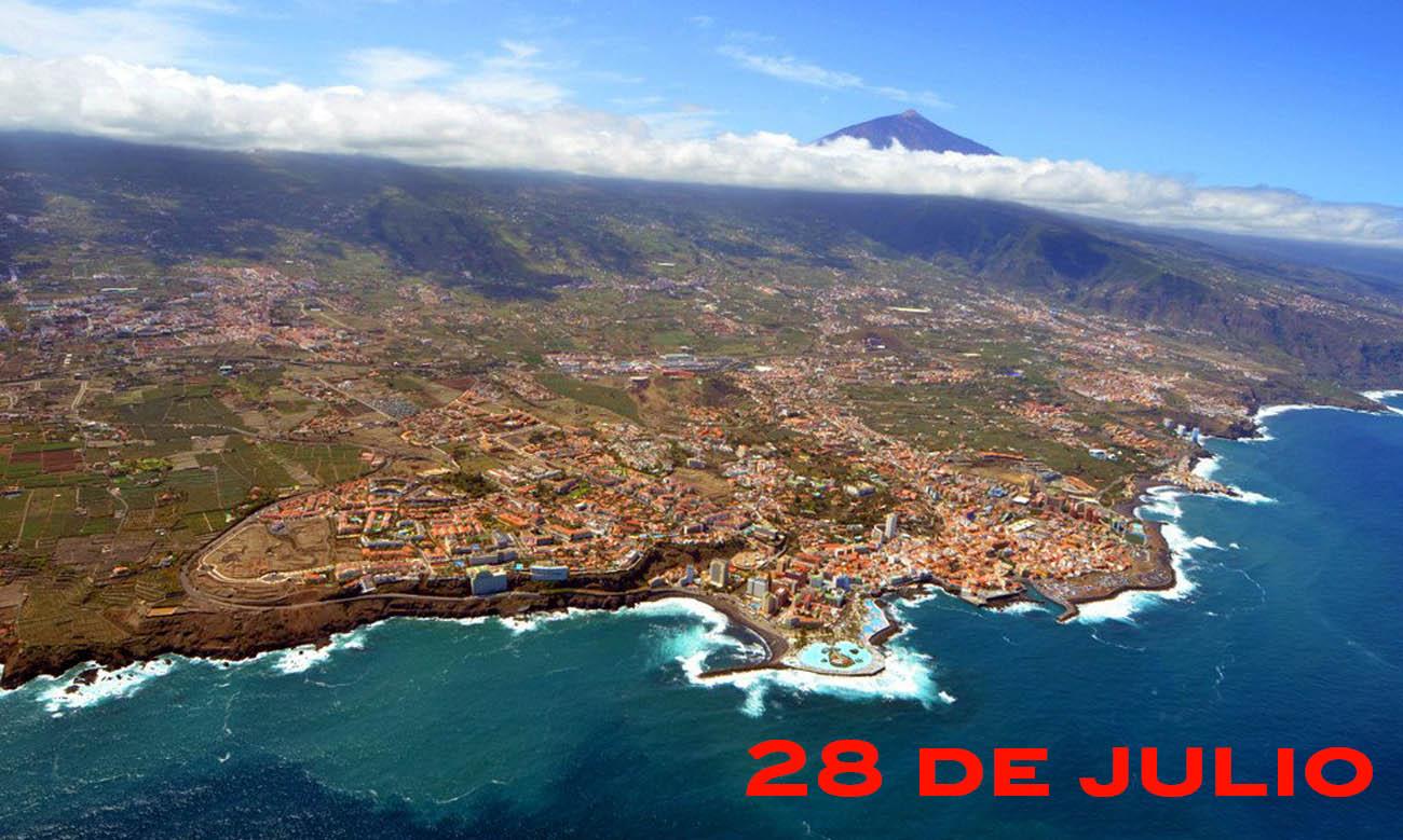28 de julio coronavirus norte de Tenerife