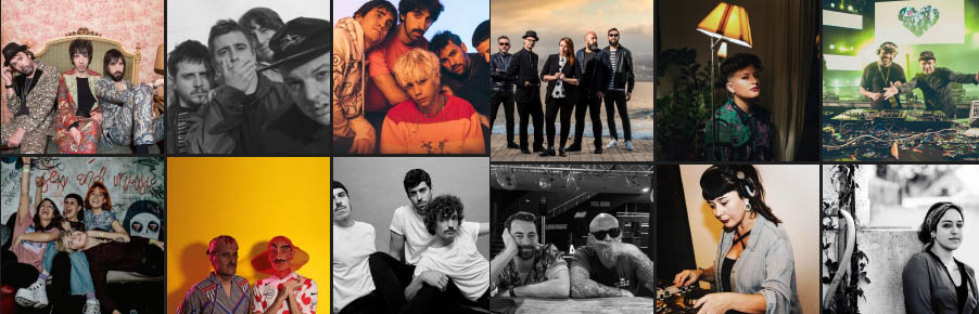 Artistas confirmados Phe Festival 2020