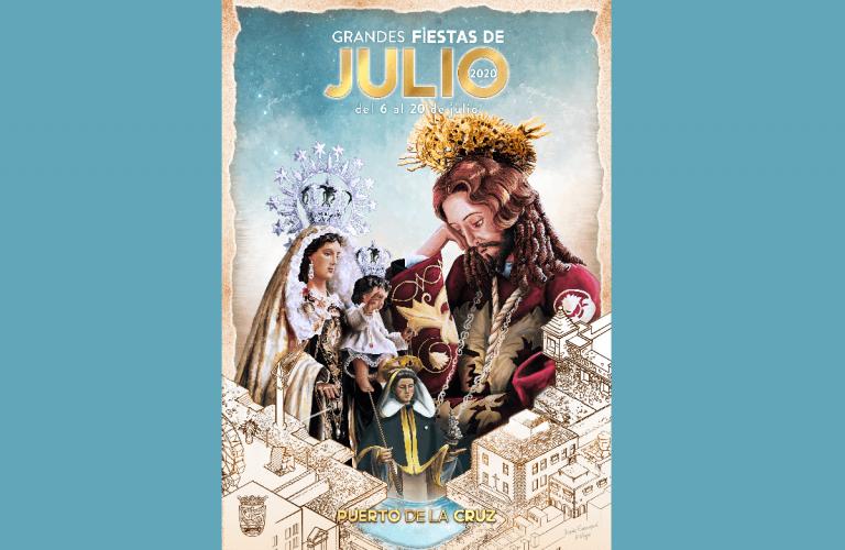 Este es el cartel de las Fiestas de Julio 2020