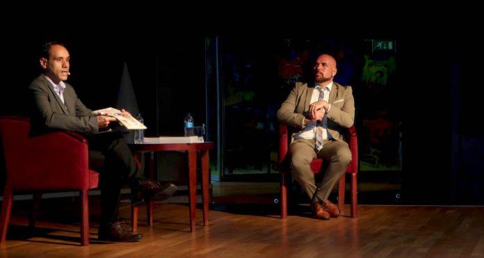 Eduardo Zalba y Marco Gonzalez en la Sala Andrómeda