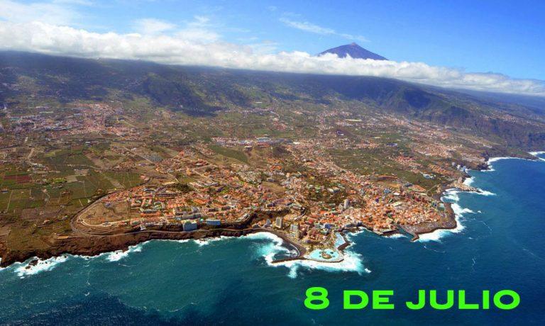 Las cifras del Coronavirus en el Norte de Tenerife (8 de julio)