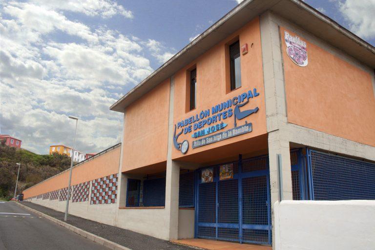 Ya se puede utilizar el Pabellón Municipal de San Juan de La Rambla