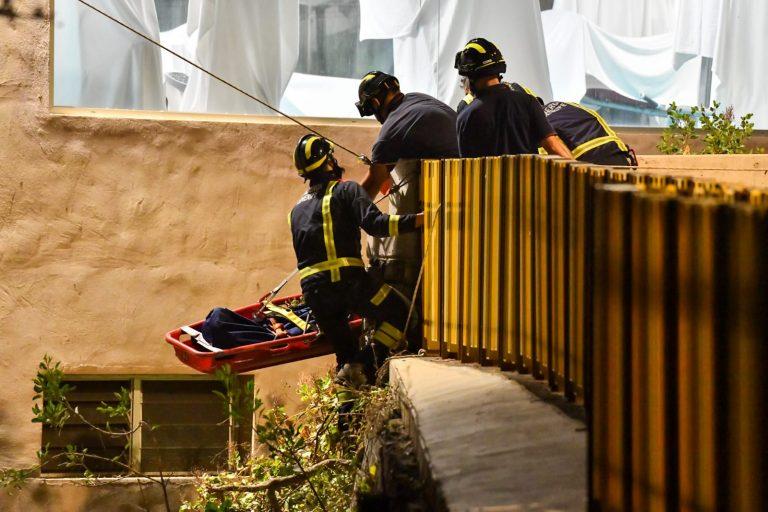Un hombre fallece al precipitarse desde 40 metros de altura desde las inmediaciones del Semiramis