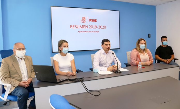 Rueda de prensa PSOE Realejero