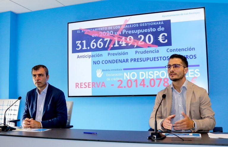 Los Realejos reserva 2 millones debido al descenso de las transferencias de otras administraciones
