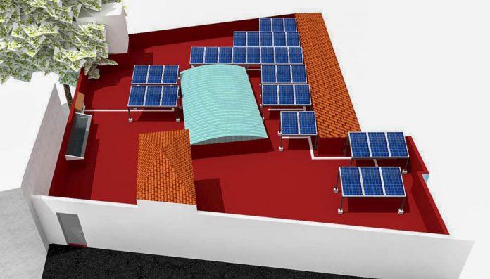 proyecto en cubierta del Ayuntamiento de La Victoria
