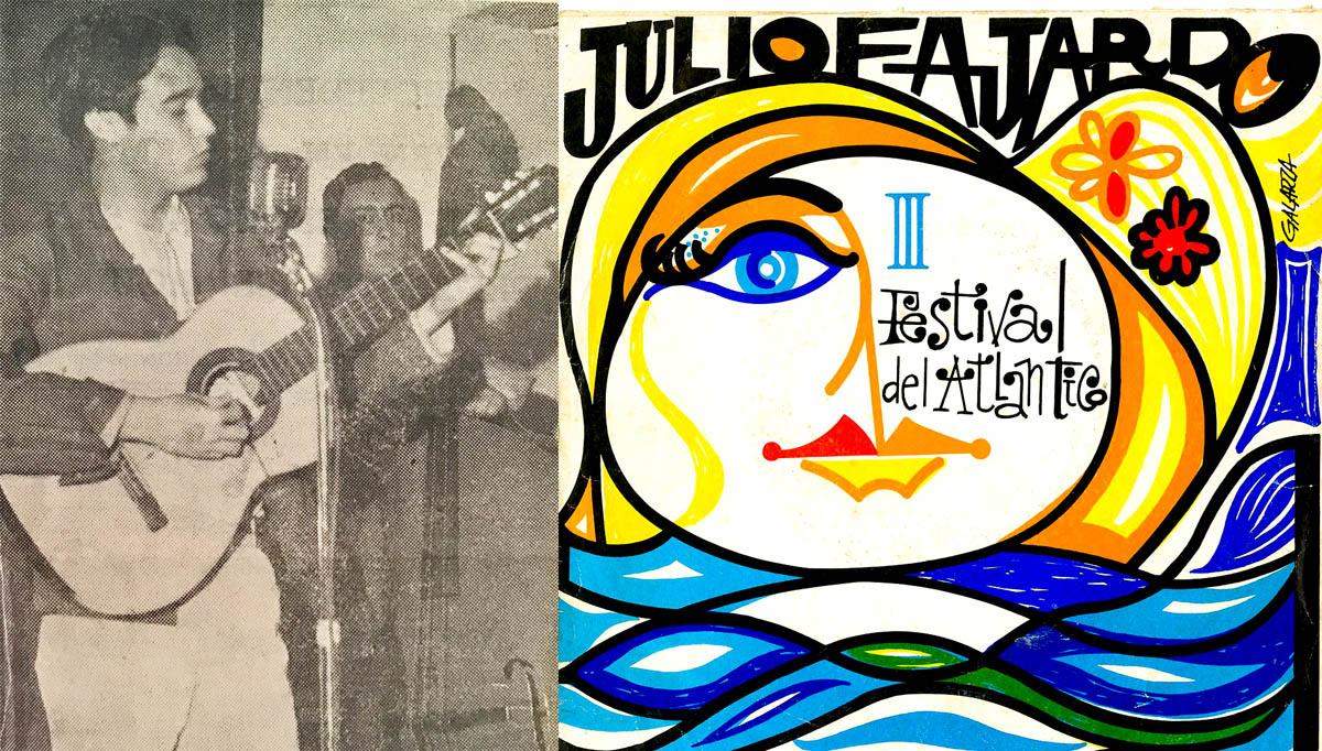 Julio Fajardo en el Festival de la Canción del Atlántico
