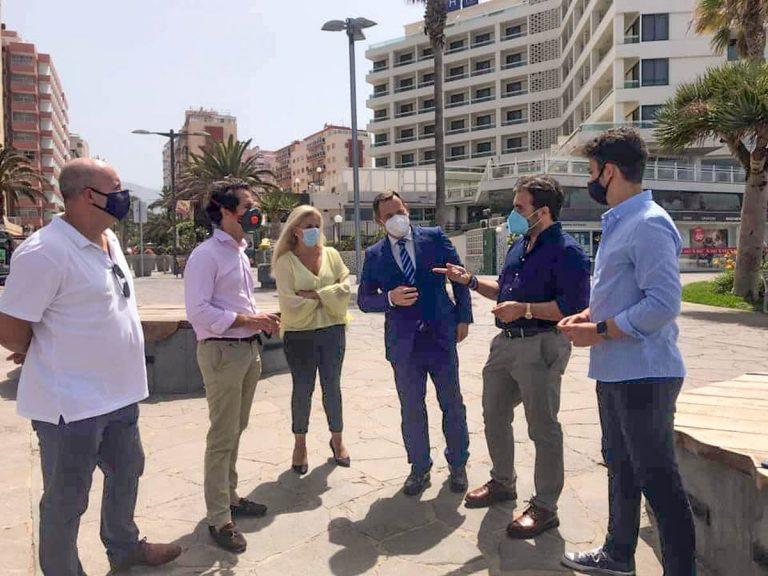 El PP acusa al PSOE de dejar caducar el estudio de impacto ambiental del proyecto regeneración de Playa Martiánez