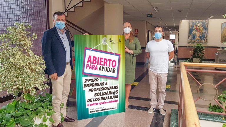 Los Realejos pide a empresas y profesionales solidarios participar en el foro 'Abierto para ayudar'