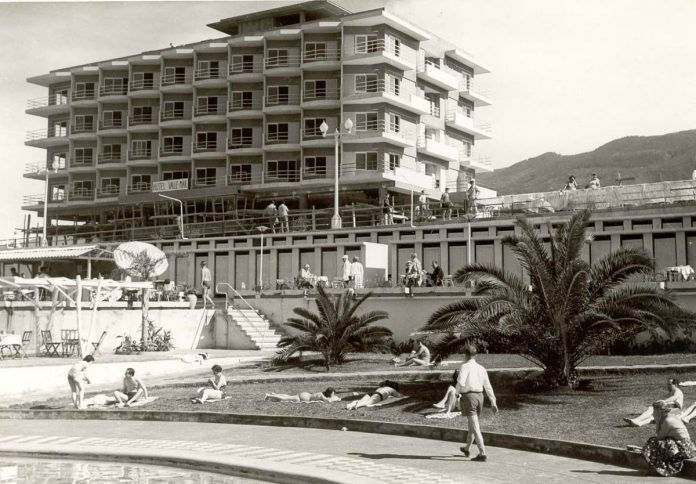 Imagen antigua del Hotel Valle Mar