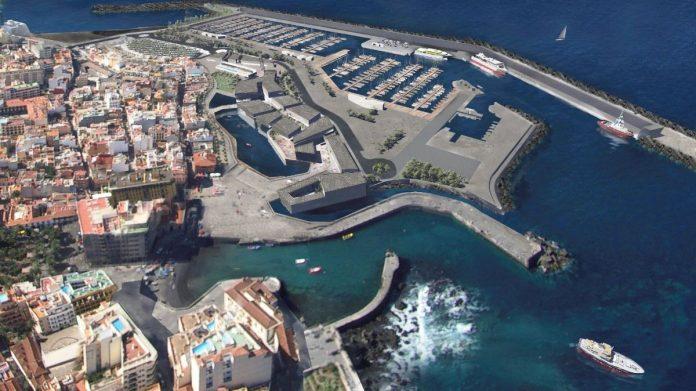 Proyecto del futuro muelle del Puerto de la Cruz FERNANDO-MENIS